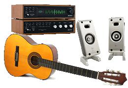AV機器・楽器買取のイメージ