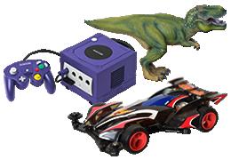 おもちゃ・ゲーム買取のイメージ