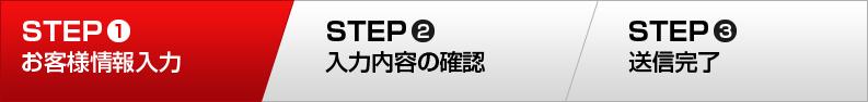 STEP1 お客様情報入力