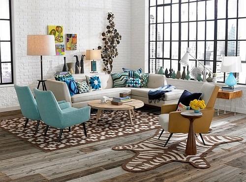北欧風デザインのソファー