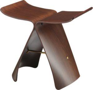 天童木工の代表的な家具「バタフライスツール」